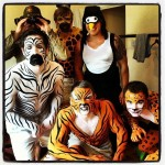Promotional event body painting