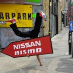 Sign Spinners for promotions in the UK