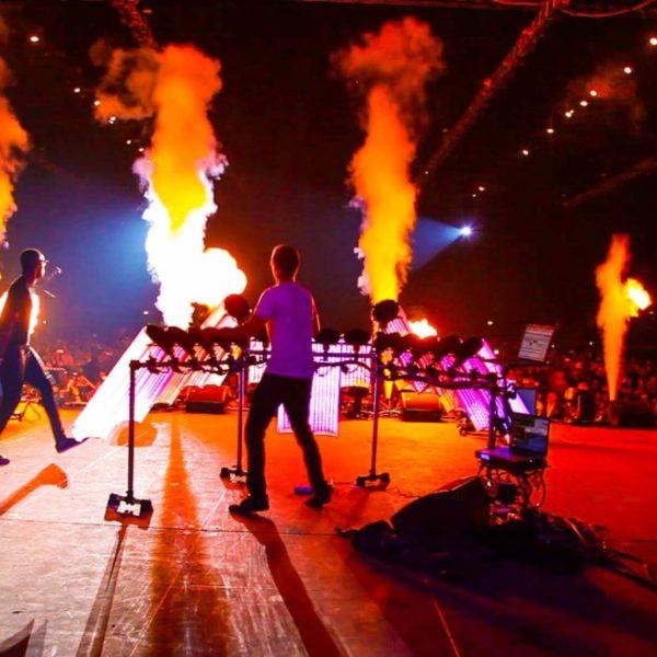 Live LED music show