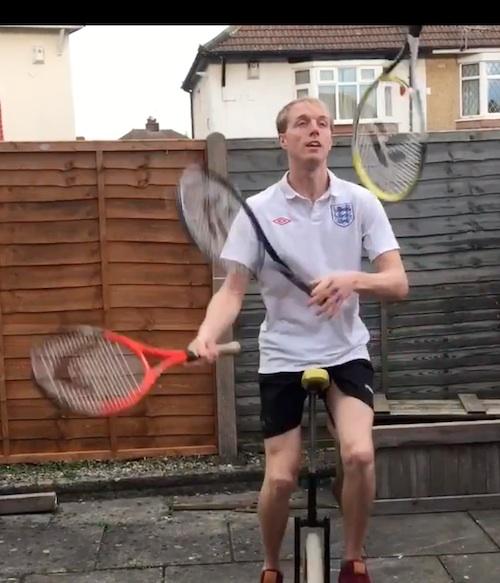 Sports Tennis Entertainer
