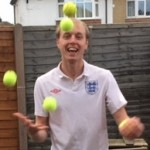 Tennis Juggler for Sports Themed Events