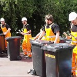 Workmen recycled Music band
