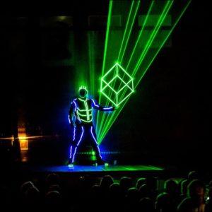 Events Branded Laser - LED logo Entertainment