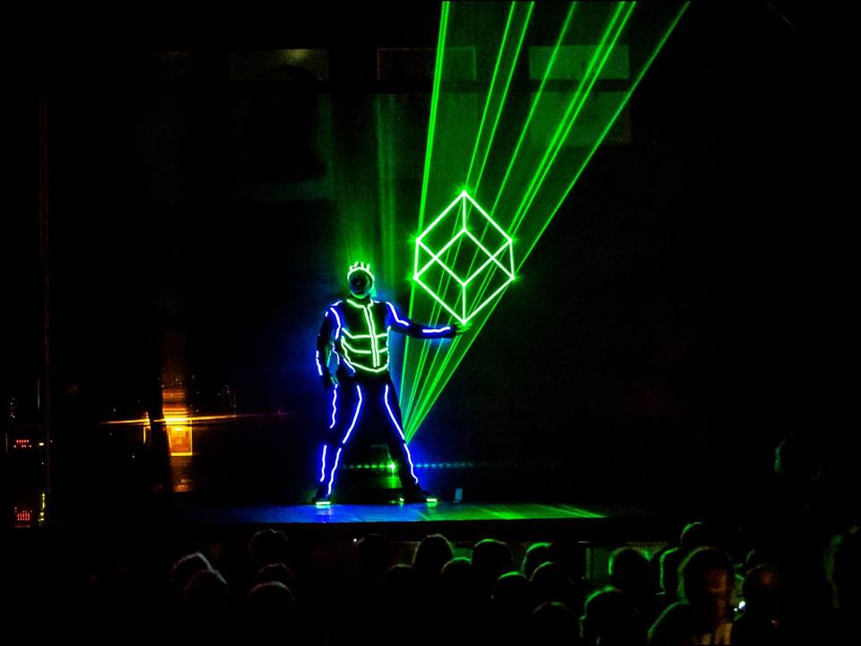 Events Branded Laser - LED logo Entertainment