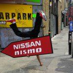 Car brand STREET PROMOTION