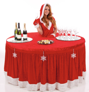 Drinks entertainers - Christmas themed