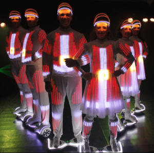 Santa LED Light - Airboard Show