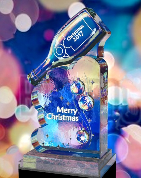 ice sculpting Christmas