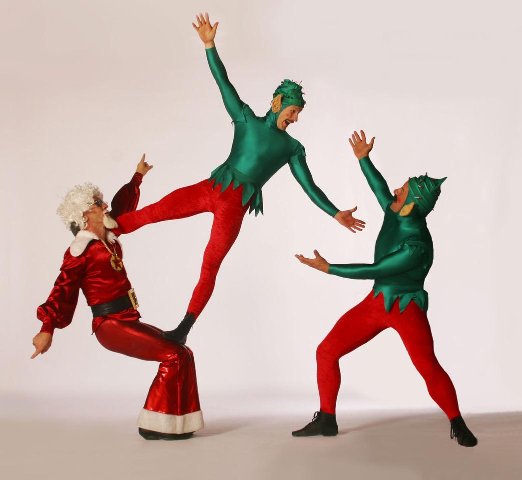 live christmas acrobats