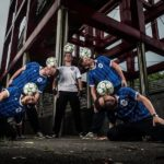 Corporate Stage Football Entertainers