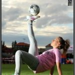 Female football tricks Entertainer - kids party london