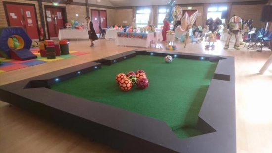 Football pool - Kids party entertainment