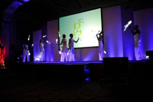 LED Light Juggling - Corporate Entertainment
