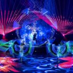 LED laser light corporate event entertainment