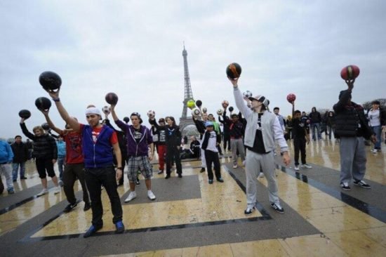 Sports entertainers for festivals