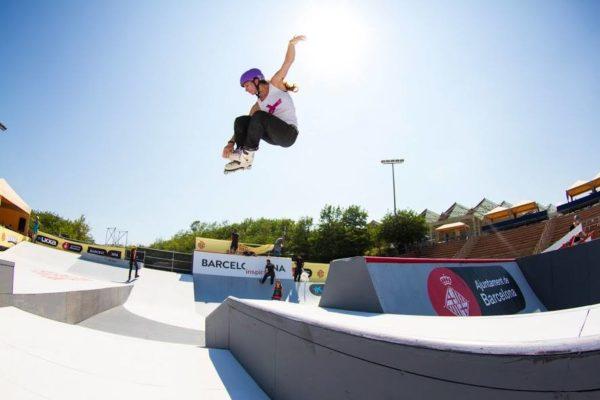 Female Stunt Skater