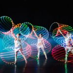 Acrobatic Hoop LED Light Entertainers