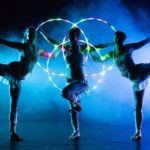 Acrobatic Hoop LED Light Entertainment
