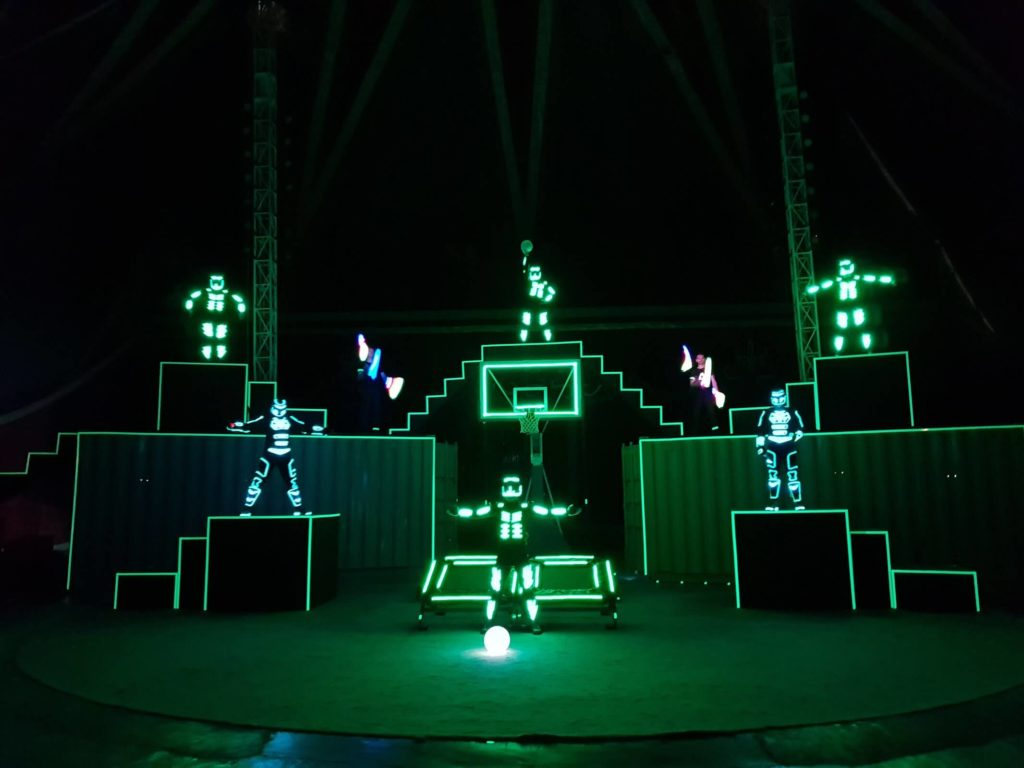 Container LED Light Show