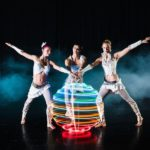 Hoop LED Light Acrobats