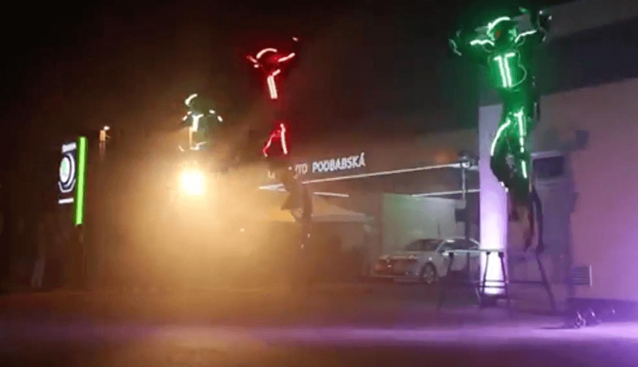 Jumping Stunts LED
