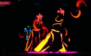LED Fire Entertainment Show