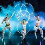 LED Light Acrobats For Events