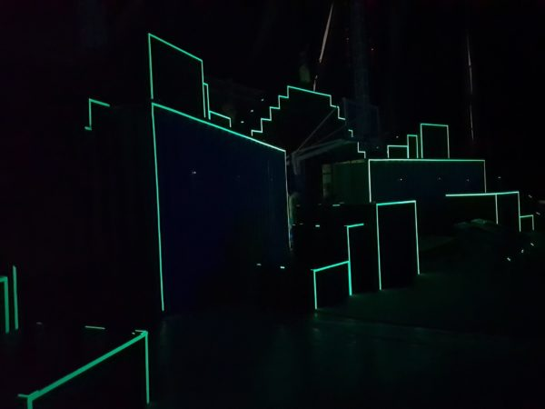 LED light Container performers