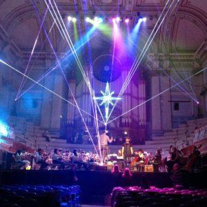 Laser Harp Entertainer Show