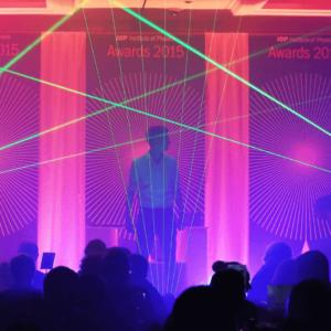 Laser Harp Performer for Events