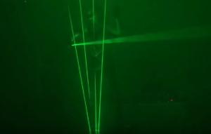 Laser Light Stage Performance