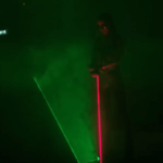 Red Green Laser Entertainers
