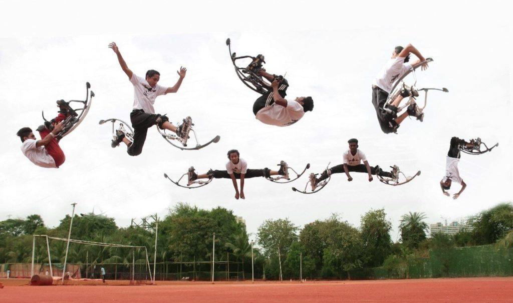 Stage Stunt Jumpers