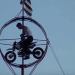 Tight Wire Motor Bike Stunt Show
