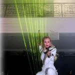 Violin Laser Music Entertainer