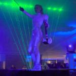 Violin Laser Music Show