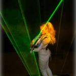 Violin - Laser Performer