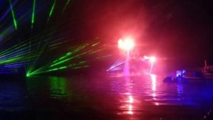 Laser Entertainers For Water Events