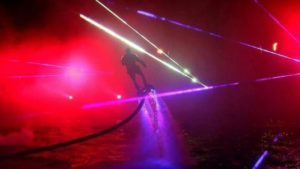 Laser Water Entertainment Shows