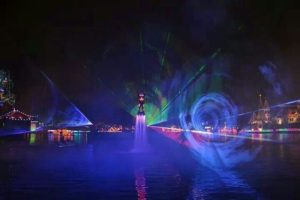 Live Laser Flyboard Water Performers
