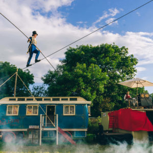 High Wire Stunt entertainers