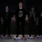 LED Performers on Hoverboards