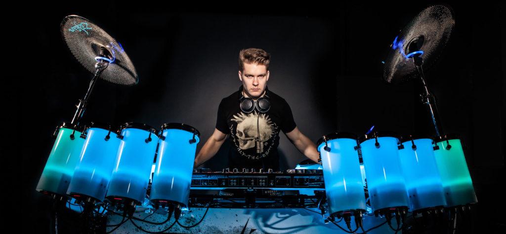 Sensational LED Drumming Entertainer