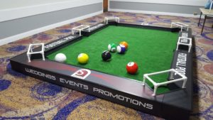 football pool table hire in London