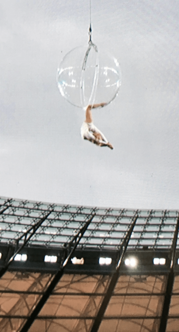 Acrobat for Stadium Performances