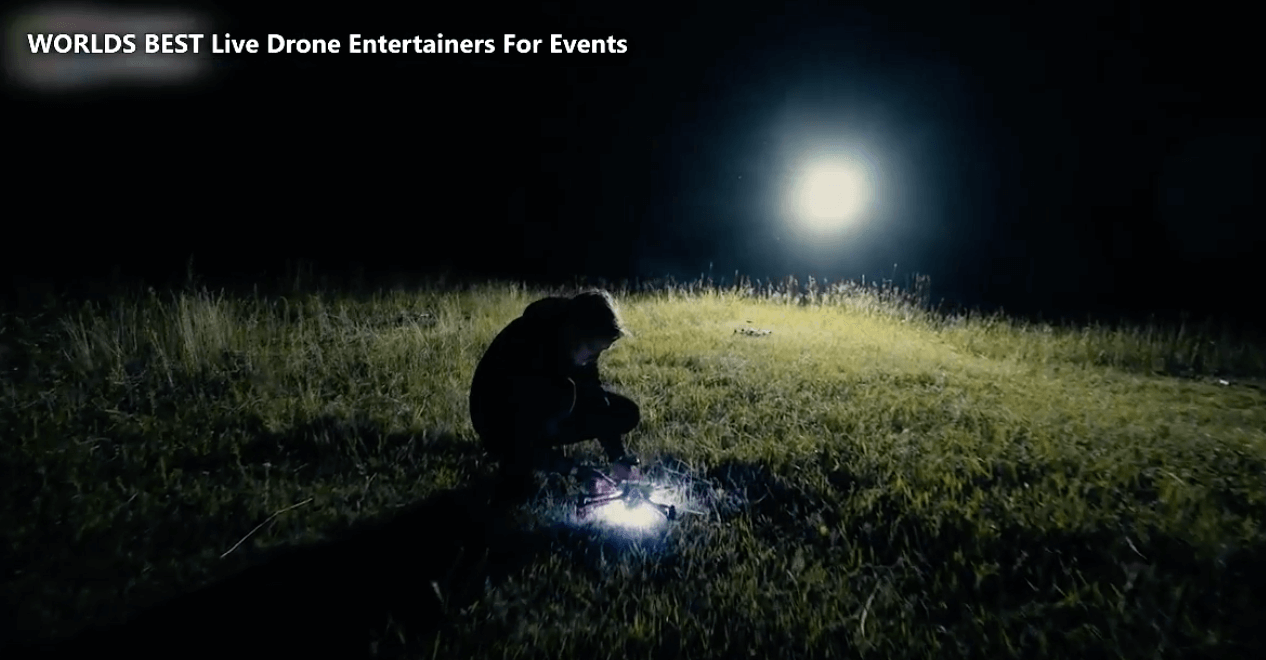 DRONE Entertainment for a Product Launch Event