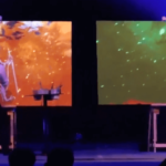 Event Projection Mapping Speed Painting Entertainment