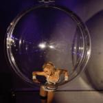 Female Aerial Acrobatic Events Show