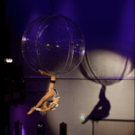 Female Aerial Acrobatic Show For Events