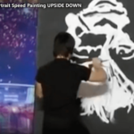 HIRE a SPEED Painter for a corporate Event